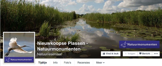 Natuurmonumenten Facebook